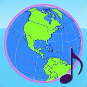 地球仪与国旗 Pro: 国歌與世界时区 (ISO 3166