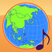 地球仪与国旗: 国歌及世界时区 (ISO 3166-1) 5.3