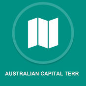澳大利亚首都TERR : 离线GPS导航