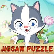 猫拼图幼儿孩子们学习游戏 1.1