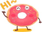 Cute Bakery贴纸,设计:jiyeon