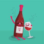葡萄酒表情符号