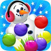 冰泡泡射击雪人