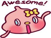 Cutie Pii贴纸,设计:Domz Agsaway