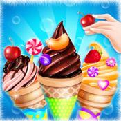 冰淇淋制作 - 烹饪游戏