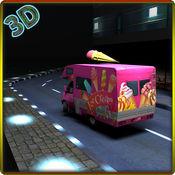 冰淇淋送货车 - 卡车驾驶模拟器