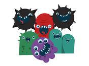 涂鸦派对 - 可爱的怪物们玩得很开心 1.3