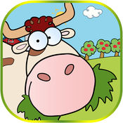 农场动物着色书所有页免费为孩子