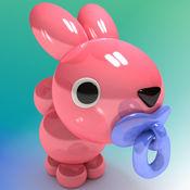 充气动物精灵宝宝