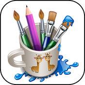 拼字游戏艺术垫 - 图画书与绘图板为孩子