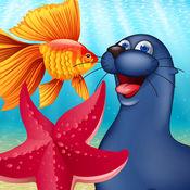 海洋动物 闪存卡...