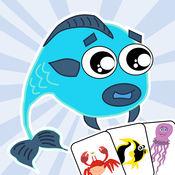 海洋 动物 匹配 游戏 - 孩子 们的 教育 游戏