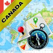 加拿大 - 离线地图和GPS导航仪 1.8