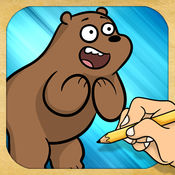 绘制和播放 对于 We Bare Bears 1