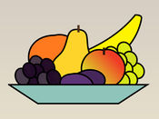 水果贴纸:为您的心脏健康的小吃 1