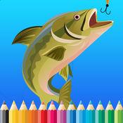 鱼着色书为孩子:绘画与着色网页游戏免费学习技能 1.0.6