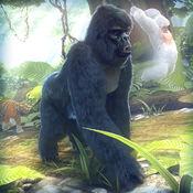 大猩猩 猴 模拟...
