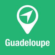 大指南 瓜德罗普 地图+旅游指南和离线语音导航