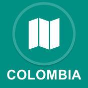 哥伦比亚 : 离线GPS导航 1