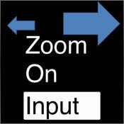 扩大输入文字 - Zoom On Input