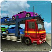汽车运输拖车卡车驾驶