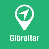 大指南 直布羅陀 地图+旅游指南和离线语音导航 1