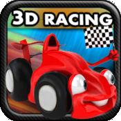 卡通赛车(3D趣味...