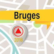 布鲁日 离线地图导航和指南 1