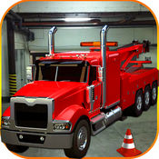 大卡车停车场 - 美国驾驶模拟器