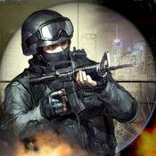 大拉斯维加斯刺客战争3D - 狙击手射击市中心矫枉过正 1