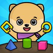 学习计数,形状和颜色 - 为孩子们免费教育游戏