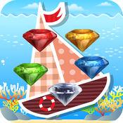 深海大钻石-超级休闲钻石大消除冒险游戏