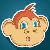 跳跃的猴子的冒险 - 冷空气弹跳种族狂热