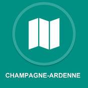 香槟 - 阿登,法国 : 离线GPS导航 1