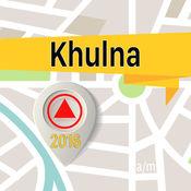 库尔纳市 离线地图导航和指南 1