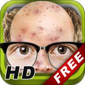 Baldy ME! HD - 便于没有头发动物你自己脸效果!