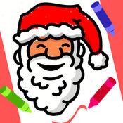 Color Christmas: 填色本