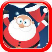 圣诞圣诞老人帽子翻转挑战比赛
