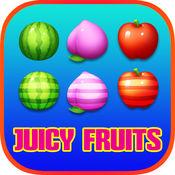 多汁的水果土地射击 - 匹配3免费游戏高清 1.0.0