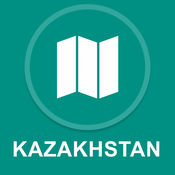 哈萨克斯坦 : 离线GPS导航