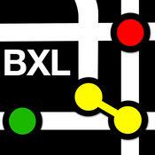 布魯塞爾地鐵地圖