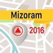 米佐拉姆邦 离线地图导航和指南 1