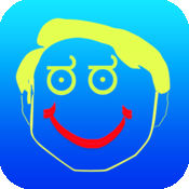 绘图-全部在一张照片效果疯狂酷图像应用程序中与 Emojis 和图释