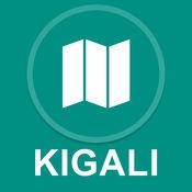 卢旺达基加利 : 离线GPS导航