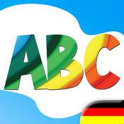 美国广播童装 学习德语 - 字母和单词 4