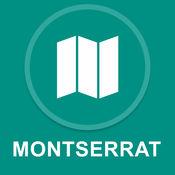 蒙特塞拉特 : 离线GPS导航
