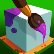彩色工艺:3D像素艺术的创造者
