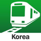 韩国 Transit - 首尔和釜山的轨道交通应用程序,其中包括地铁和火车 by NAVITIME