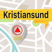 Kristiansund 离线地图导航和指南 1