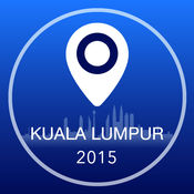 吉隆坡离线地图+城市指南导航,旅游和运输